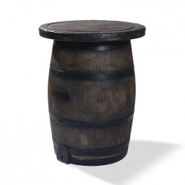 Barrel bar table - фото - 1
