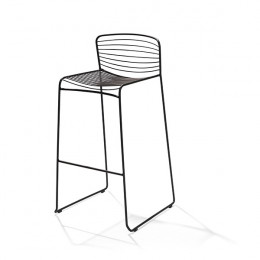 Wire Barchair Black - фото - 3